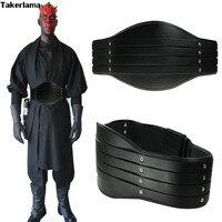 Takerlama New Star Wars Darth Maul Belt Sith Costume Pad Sash Size S M L XL