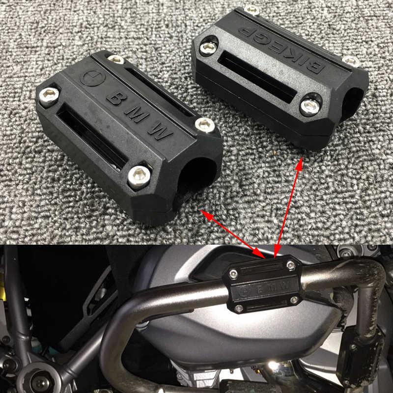 Para bmw r1200gs honda kawasaki suzuki yamaha ktm adequado motocicleta 25mm barra de acidente pára motor guarda proteção MT-07 MT-09