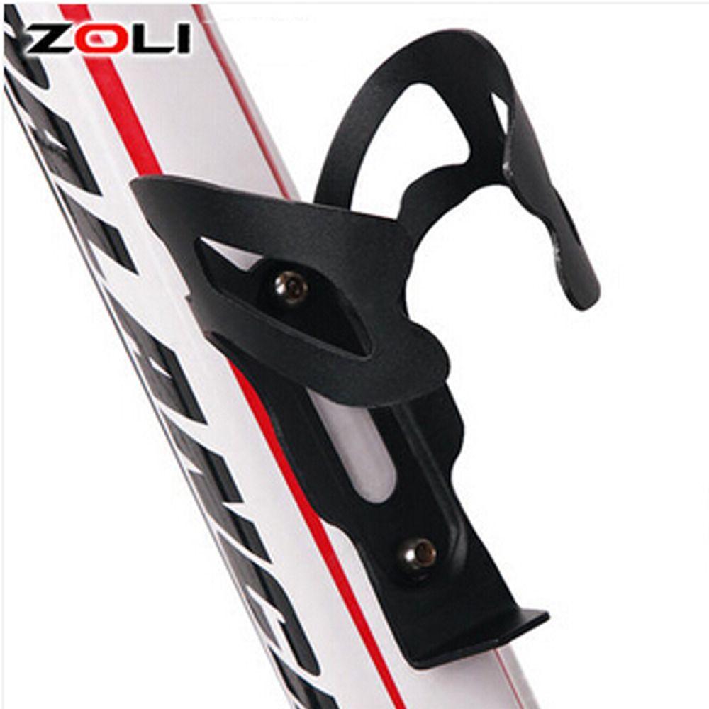 Bicycle Aluminum Alloy Water Bottle Cage Holder MTB Bike Portable Ultralight Cycling Hol ...