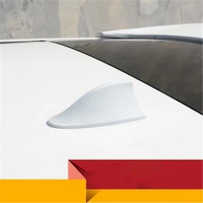 Color Name: Black Car Roof Shark Fin Decorative Aerial Antenna Cover Sticker Base Roof for Hyundai ix35 iX45 iX25 i20 i30 Sonata,Verna,Solaris