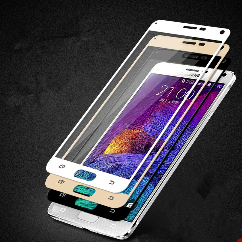 Surface Full Screen Cover Explosion-proof Tempered Glass Film for Samsung Galaxy Note 4 5 Note4 N9100 N910F Note5 N9200 N920A