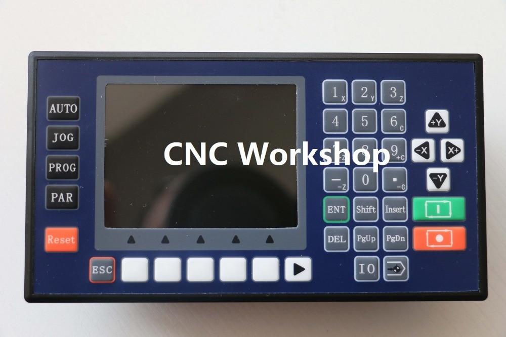 4-assige 3,5 inch kleuren LCD CNC-controller USB-draaibank mini-freesmachine servobesturing stappenmotorbesturing