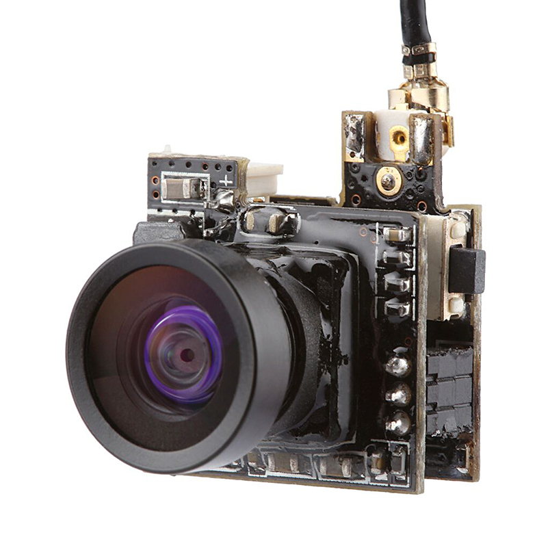 Super Mini Camera LST-S2 5.8G 25MW 40CH Transmitter 800TVL FPV AIO Micro Camera for RC Racer Drone Indoor Quadcopter
