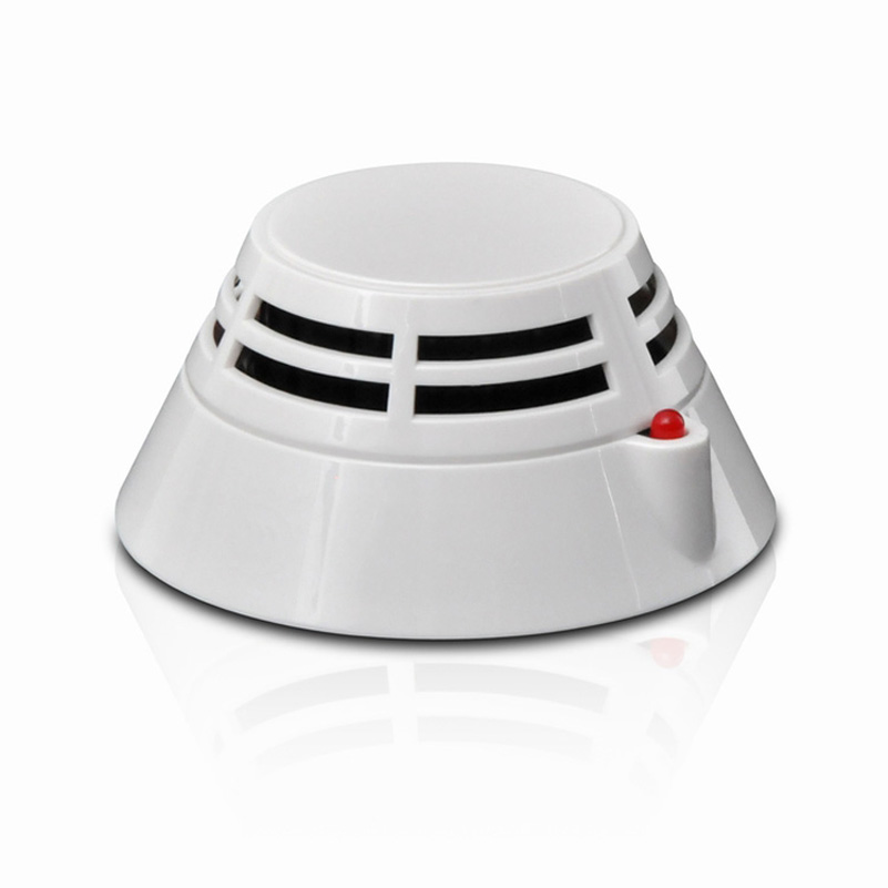 SJ Addressable Photoelectric Smoke Detector Security Products Intelligent Smoke Sensor Compatible With SJ Brand Panel