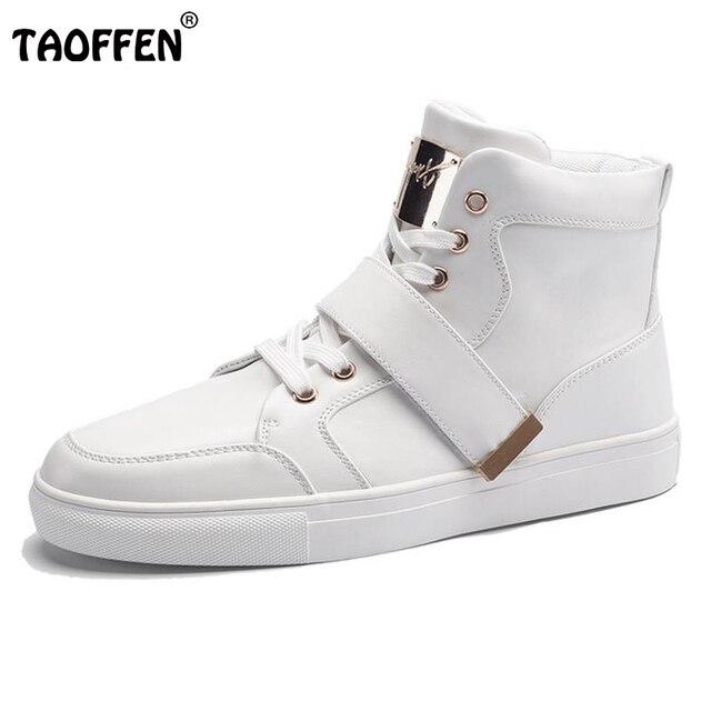 Мужчины Сапоги Бинты Стиль Высоким Вырезом Теплая Осень Зима Мужчины обувь Повседневная Сплошной Цвет Зашнуровать Хлопка Обувь Водонепроницаемый Топ качество