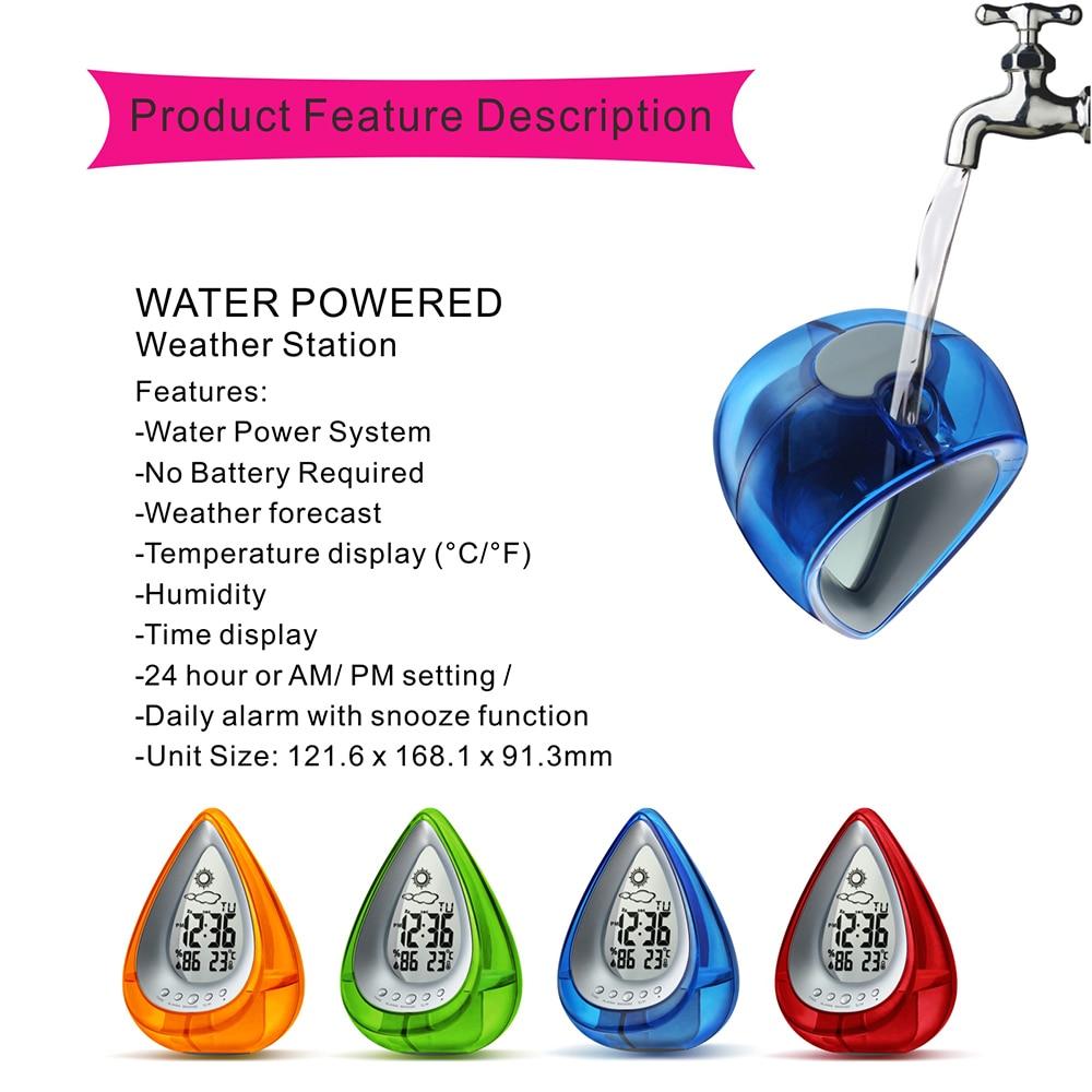 Water Powered Eco-friendly Digital Clock 22