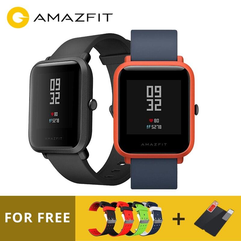 English Version Huami Amazfit Pace Lite Version Smart Watch Bluetooth 4.0 WiFi Dual Core GPS Heart Rate Monitor Sports Watch цена