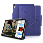 DOWSWIN Case For iPad Pro 11 2018 leather Case for iPad Pro 12.9 2018 Multiple Magnetic Case for iPad 2018 Case New Pro 11 12.9