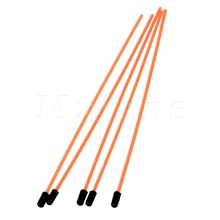 Mxfans 5pcs 02057 Orange Plastic Flexible Antenna Tube Fit for Most RC Model Cars
