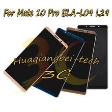 6.0 新華為メイト 10 プロ BLA L09 BLA L29 フル Lcd ディスプレイ + タッチスクリーンデジタイザアセンブリ 100% テスト追跡