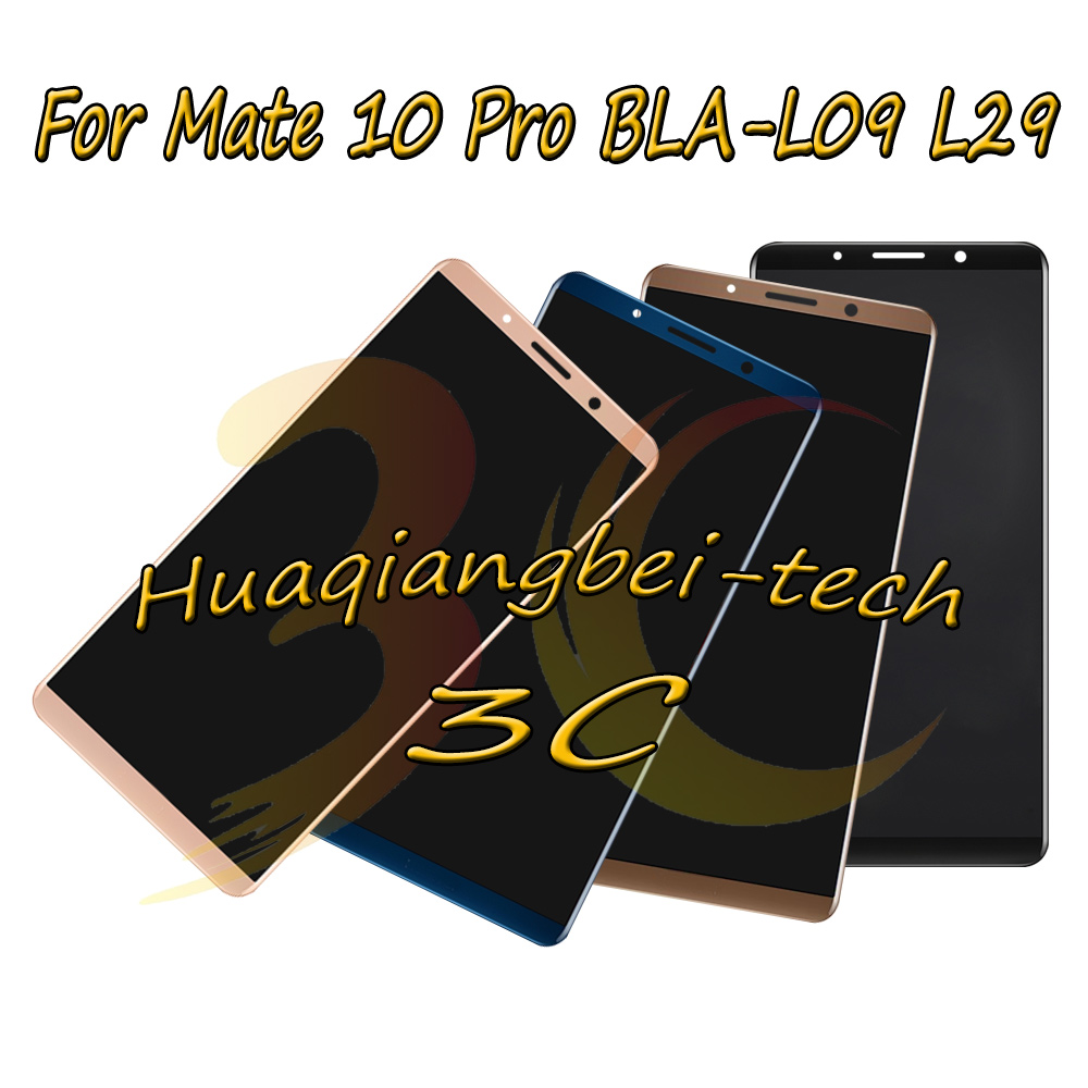 6.0 New For Huawei Mate 10 Pro BLA-L09 BLA-L29 Full LCD DIsplay + Touch Screen Digitizer Assembly 100% Tested With Tracking6.0 New For Huawei Mate 10 Pro BLA-L09 BLA-L29 Full LCD DIsplay + Touch Screen Digitizer Assembly 100% Tested With Tracking