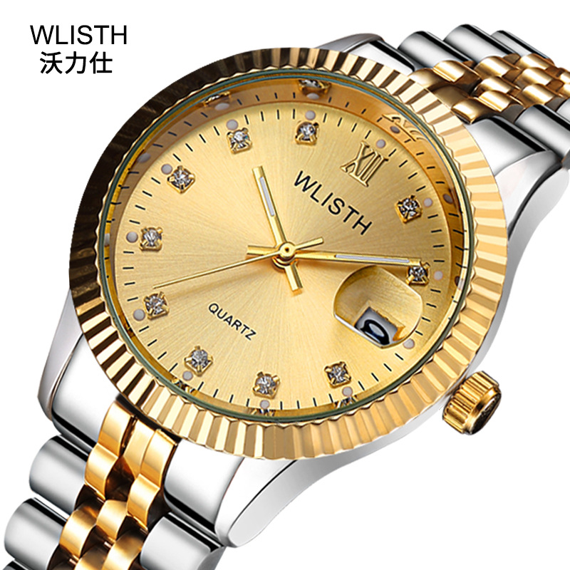 Reloj Hombre 2019 Men Wrist Watch Mens Watches Top Wlisth Brand Luxury Women Diamond Clock Automatic Date Saat Relogio Masculino