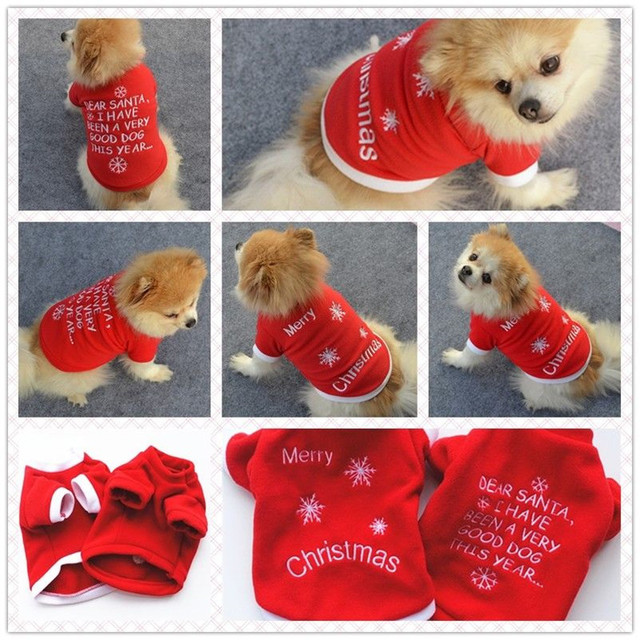 Pet Warm Dog Cat Jacket Coat Puppy Clothes For Dog Winter Sweater
