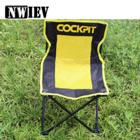 NWIEV 1X Car Outdoor folding chair Leisure fishing Chair For Peugeot 307 407 308 Mazda 3 6 2 Toyota Corolla C HR Alfa Romeo 159