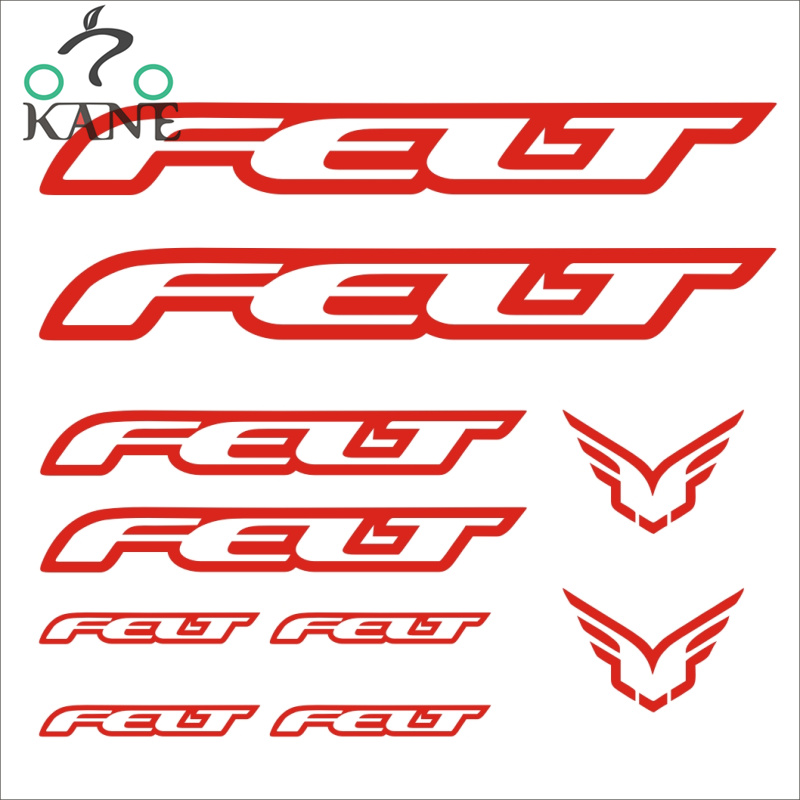 BMC Bike Bicycle Frame Decals Stickers Graphic Adhesive Set Vinyl Red