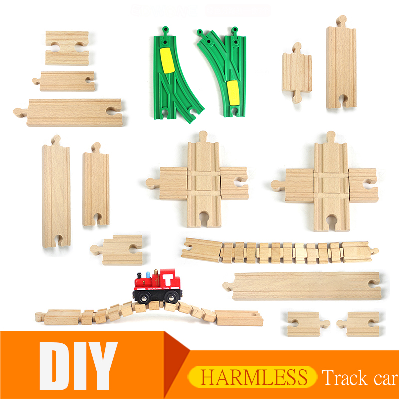 Thomas And friends Wooden Track Train Railway Model Magic Magnetic Education Brio Vehicles Accessories Toys For Kids