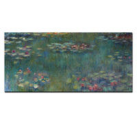 Big Size HD Print Monet Oil Painting Lotus Landscape Painting On Canvas Impressionist Wall Art Picture