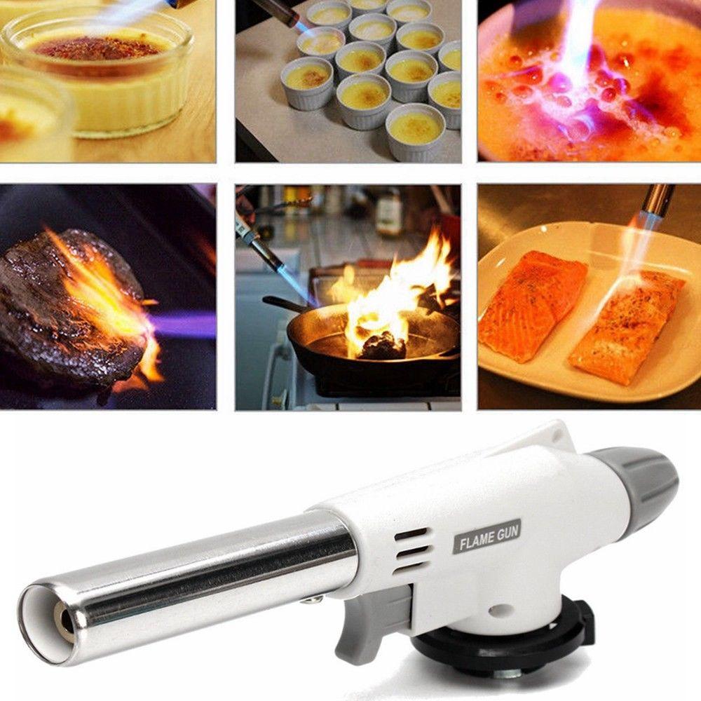 Cozinha culinária butano tocha cozinhar alimentos creme brulee sopro tocha churrasco casa