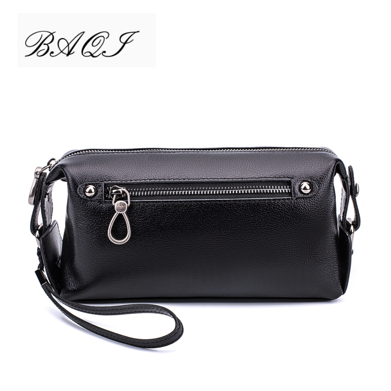 BAQI Brand Men Wallets Clutch Genuine Leather Soft Sheepskin Men Handbags 2019 Fashion Men Casual Bag Designer Ipad Phone BagBAQI Brand Men Wallets Clutch Genuine Leather Soft Sheepskin Men Handbags 2019 Fashion Men Casual Bag Designer Ipad Phone Bag