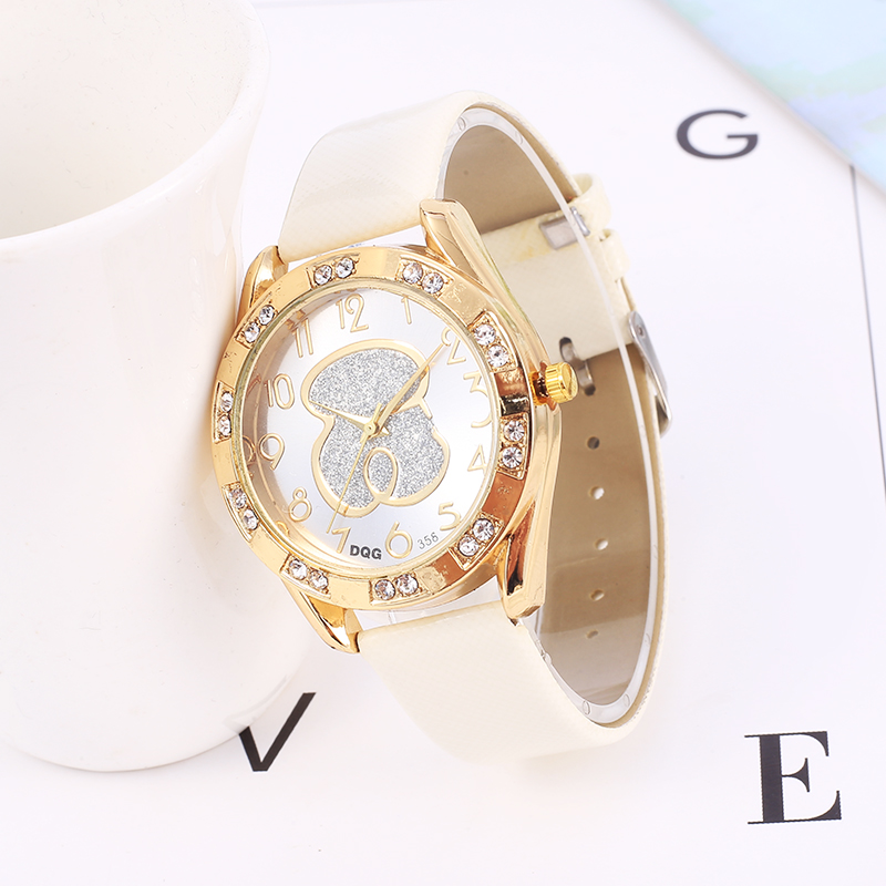 Relogio Feminino 2019 New Women Watches Fashion Brand Bear Watch Women Casual Leather Belt Quartz Wristwatch Reloj Mujer
