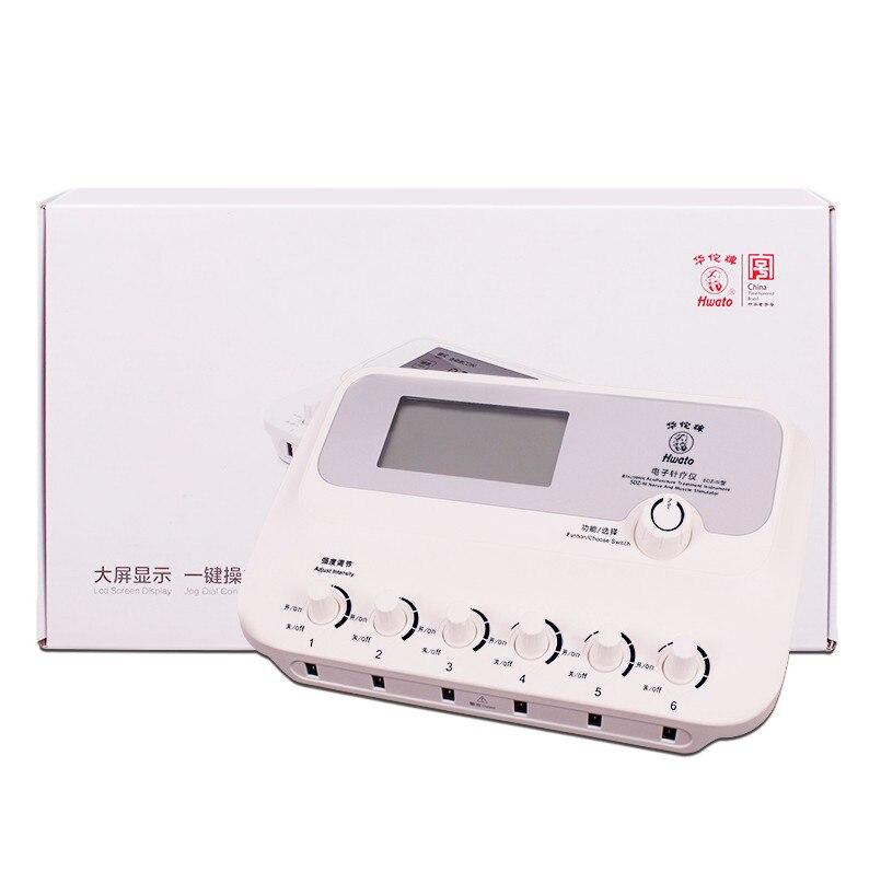 6 kanałów Hwato SDZ III o niskiej częstotliwości stymulacja elektryczna masażer 110 240 V instrukcja obsługi w języku angielskim SDZ III w Masaż i relaks od Uroda i zdrowie na  Grupa 1