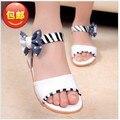 Sandalias de los niños niños niñas zapatos 2016 Nueva Princesa del verano de Baile de Moda 1-482