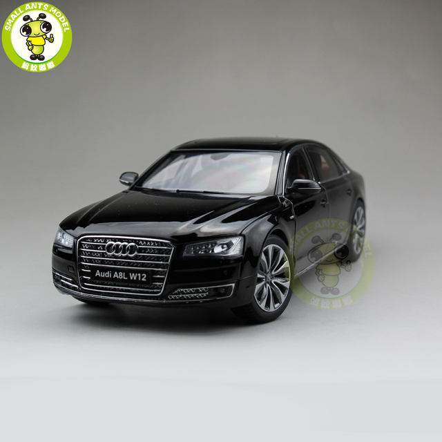 Us 105 0 1 18 Audi A8l W12 2014 Diecast Metal Model Car Toy Kyosho 09232 Gift Hobby Collection Black In Diecasts Toy Vehicles From Toys Hobbies