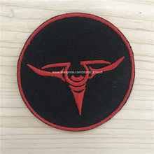 custom iron military embroidered patches