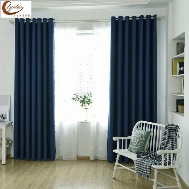 Byetee cortinas modernas cortinas cocina Cortinas Puertas Lino