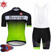 b1f8c1a05 2018 Banesto Scotto Cycling Jersey 9D GEL Pad Bike Shorts MTB Men s Cycling  Clothing summer bike wear
