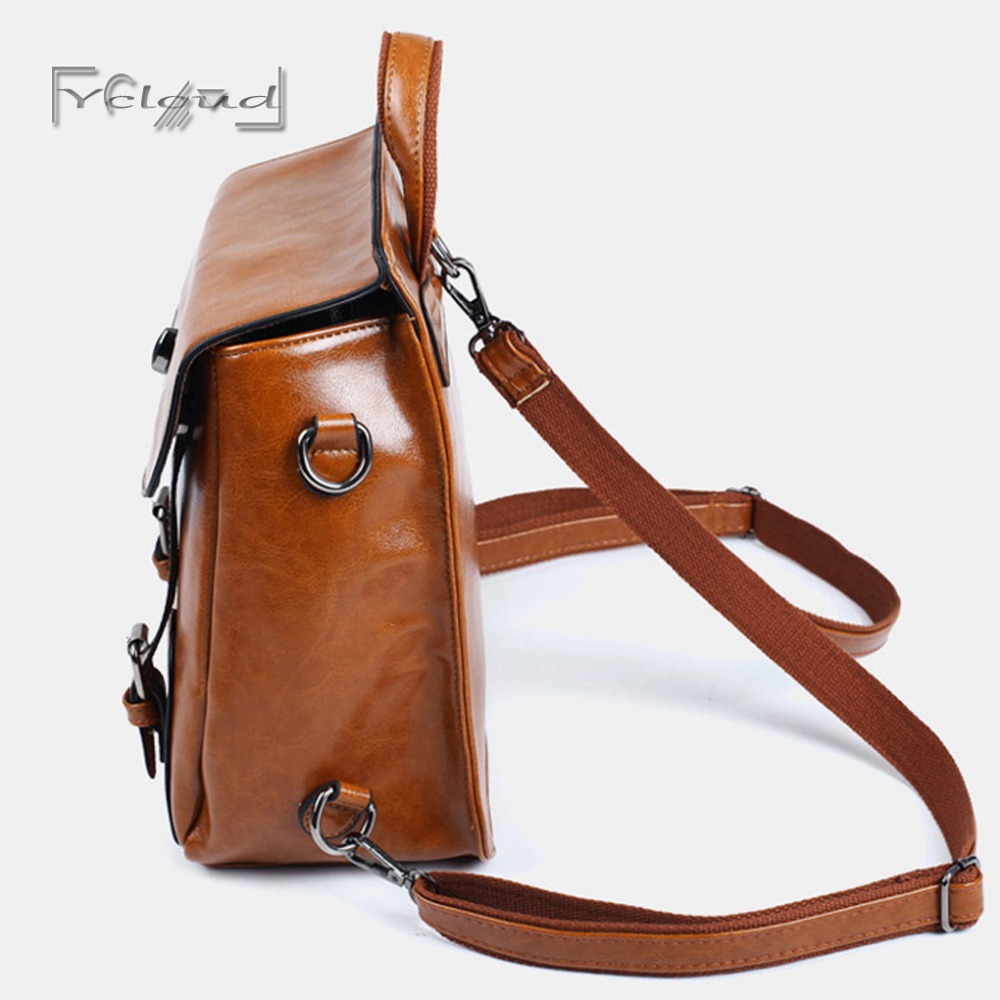 51e348f5e34c ... Square Brown Leather Backpack super popular d1c1b f227a  KKs 30 Inch  Real Goat Leather Large Handmade Travel Luggage Bags in Square Big bag Carry  ...
