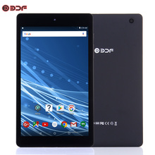 2018 New WiFi Tablet 8 inch Android 6.0 Quad Core 1GB 16GB Bluetooth IPS Screen Tablet pc 2MP Dual Camera Support Extend TF Card