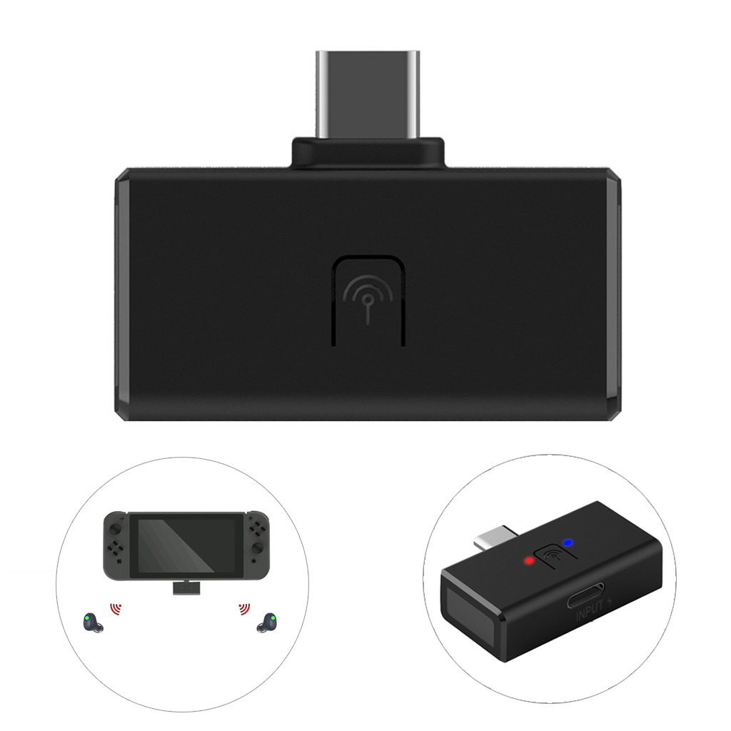 Unterhaltungselektronik Schalter & Bluetooth Audio Usb Transmitter Unterstützung Für Ps4/schalter/pc Host Verwenden Für Tische Zuhause Sound System Auto Stereo System