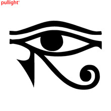 10.1*7.3CM Unique Egyptian God Eye Of Ccar Stickers Interesting Motorcycle Vinyl Window Decals