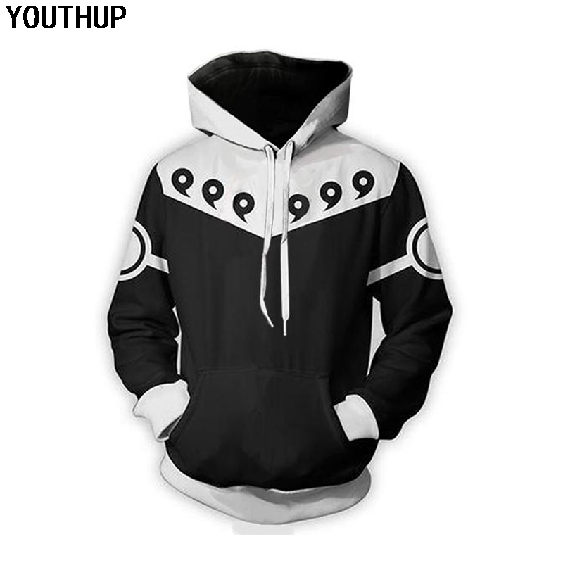 Kleidung Sport-kapuzenpullis & -sweatshirts Cosplay Naruto Anime Kapuzenpulli Kapuzen Kurzarm T-shirt Hoodie Pullover Neu