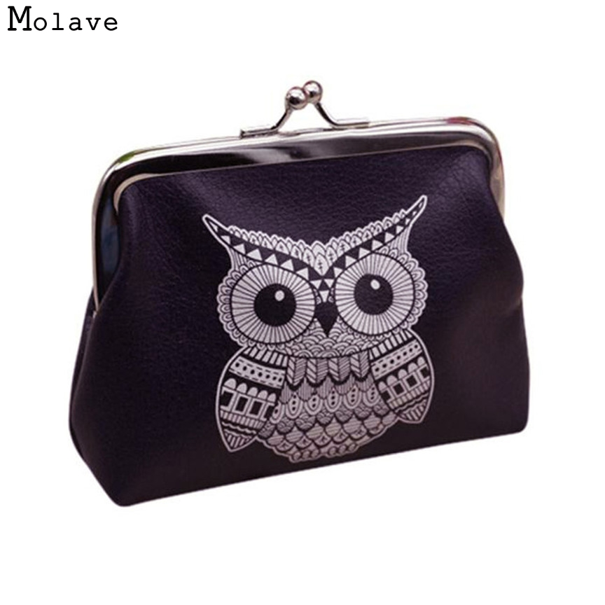 Naivety New Fashion Mini Womens Owl Wallet Card Holder Coin Purse Lady Clutch Bag JUl4 drop shipping womens wallet card holder coin purse clutch bag handbag lightweight portable and fashionable with famous brand