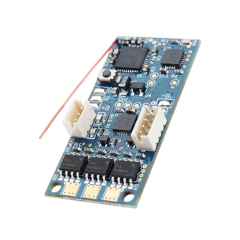 DasMikro 2.4G Dual ID Brushless Mainboard สำหรับ KYOSHO MHS ASF Micro Racing Rc รถอะไหล่-ใน ชิ้นส่วนและอุปกรณ์เสริม จาก ของเล่นและงานอดิเรก บน   2