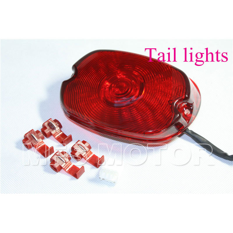 Davidson Softail Sportster Road King Dyna Electra Glide Fat Boy Motorcycle LED RED Tail Light For Harley aftermarket free shipping motorparts for harley davidson softail dyna glide road king sportster 883 1200 cvo street glide chrome