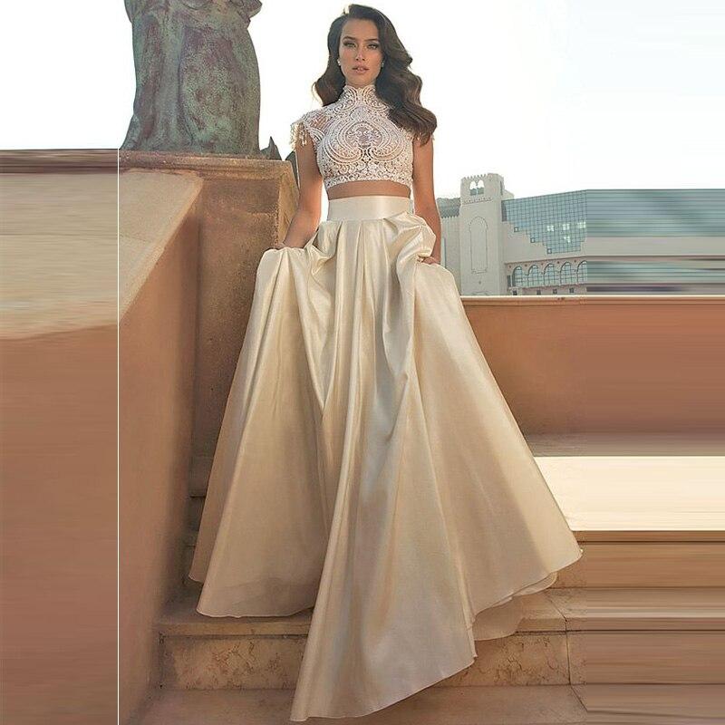 925a7f089 Falda de fiesta Formal de mujer brillante tafetán hecho a medida imperio  cremallera cintura noche ...