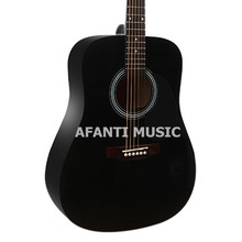 41 inch Black color classical guitar of Afanti Music (ASG-1245)