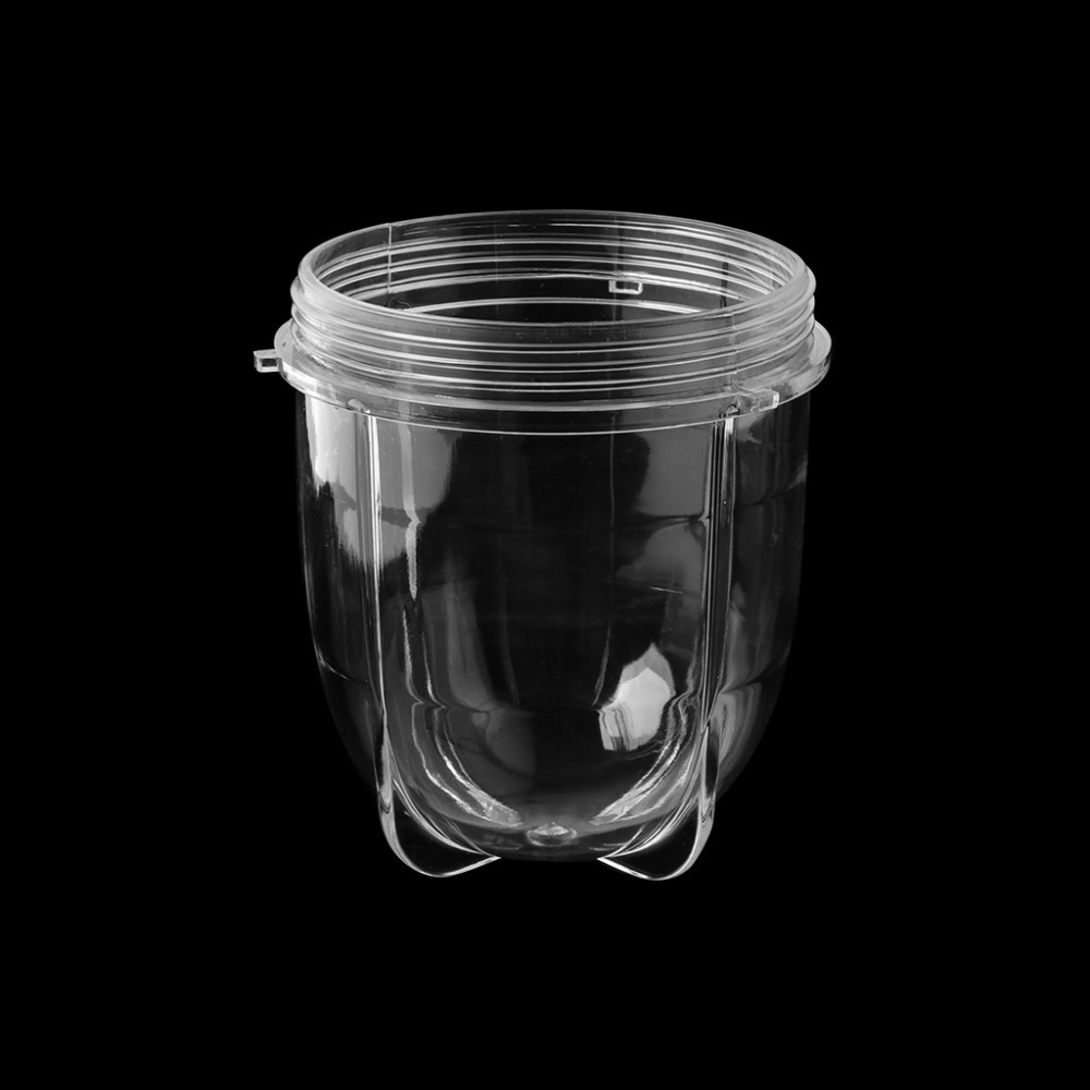 1PC 8*10CM Juicer Blenders Cup Mug Clear Replacement Parts With Ear For 250W Magic Bullet 8 replacement spare parts blender juicer parts 4 rubber gear 4 plastic gear base for magic bullet 250w 38