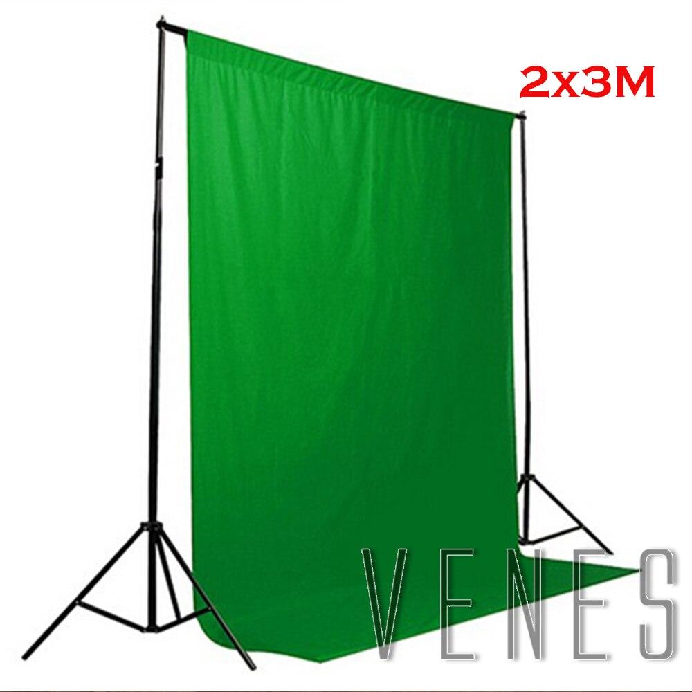 Photo Studio kits , 2x3m Photo Background , Green photography background cloth, Photography Backdrops Backgrounds