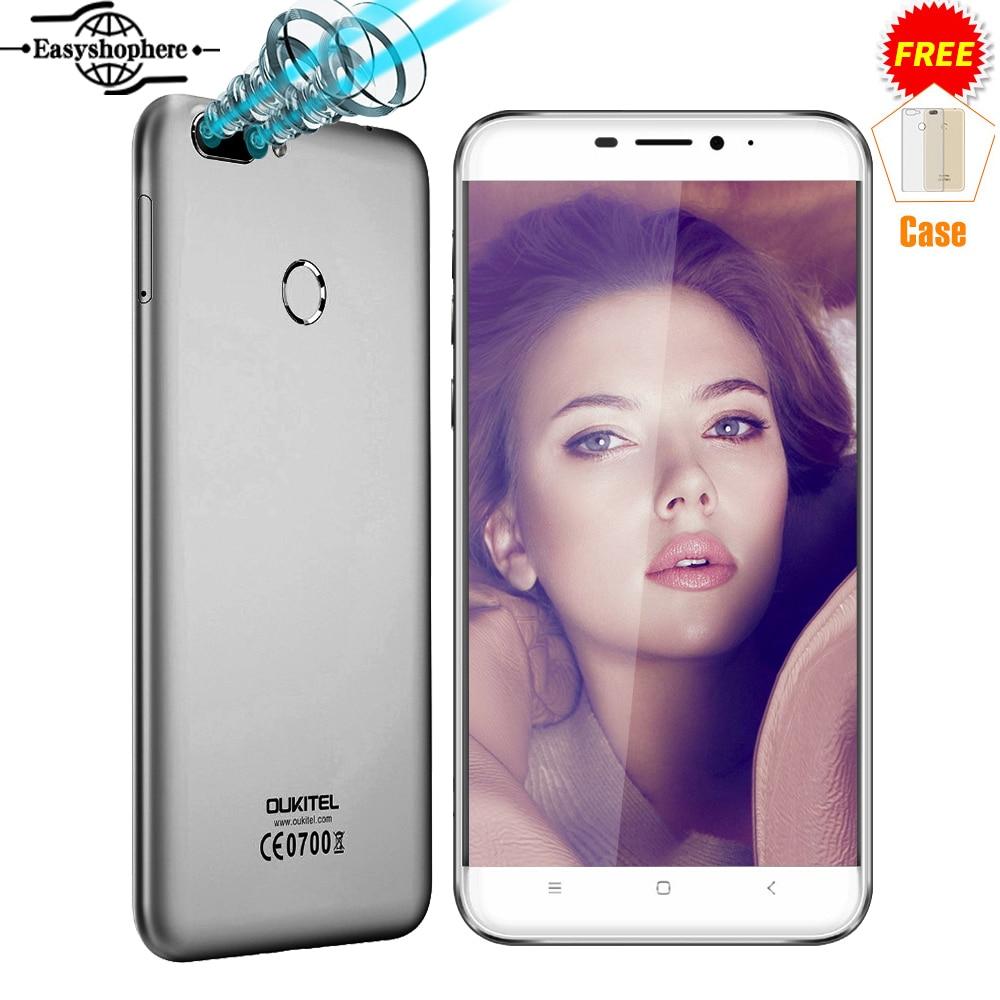 5 5 Inch FHD Oukitel U20 Plus 4G Smartphone Dual Camera Quad Core 2GB 16GB Mobile