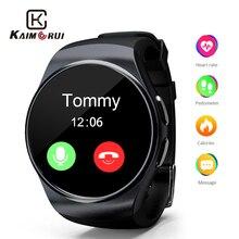Купить с кэшбэком Smart Watch Pedometer Heart Rate Make Call Support SIM TF Card Bluetooth Smartwatch for iPhone Xiaomi Huawei Android Smart Phone