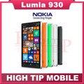 Телефон Nokia, разблокированный Lumia 930 четвёрка - ядро 20MP камера LTE NFC 32 гб ROM 2 гб RAM отремонтированный