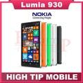 Nokia teléfono, lumia 930 desbloqueado celular de cuatro núcleos 20MP cámara LTE NFC 32 GB ROM 2 GB RAM rehabilitado
