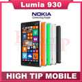Unlocked Original Nokia Lumia 930 cell phone Quad-core 20MP Camera LTE NFC 32GB ROM 2GB RAM in stock free shipping Refurbished