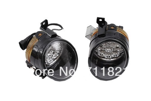 LED Powered Front Fog Lights Bright White For VW Jetta MK5LED Powered Front Fog Lights Bright White For VW Jetta MK5