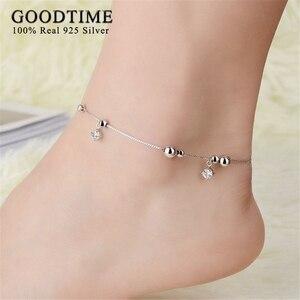 Anklets 925 Sterling Silver Je