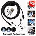 Usb-эндоскоп для Камера 5,5 мм объектив 1/2/3,5/5/10 м кабель HD промышленный мини-камера эндоскопа Водонепроницаемый 6 светодиодными лампами
